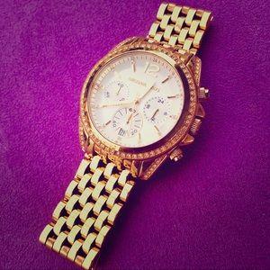 NEW Gold Michael Kors Watch